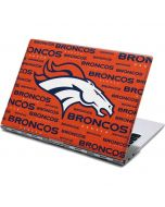 Denver Broncos Orange Blast Yoga 910 2-in-1 14in Touch-Screen Skin