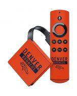 Denver Broncos Orange Performance Series Amazon Fire TV Skin