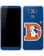 Denver Broncos Retro Logo LG G6 Skin