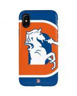 Denver Broncos Retro Logo iPhone X Pro Case