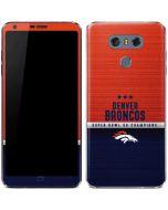 Denver Broncos Super Bowl 50 Champions LG G6 Skin