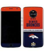 Denver Broncos Super Bowl 50 Champions Moto X4 Skin