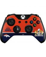 Denver Broncos Super Bowl 50 Champions Xbox One Controller Skin