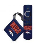 Denver Broncos Team Motto Amazon Fire TV Skin