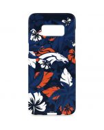 Denver Broncos Tropical Print Galaxy S8 Plus Lite Case