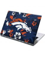 Denver Broncos Tropical Print Yoga 910 2-in-1 14in Touch-Screen Skin