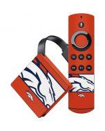 Denver Broncos Zone Block Amazon Fire TV Skin