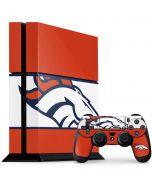 Denver Broncos Zone Block PS4 Console and Controller Bundle Skin