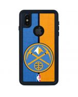 Denver Nuggets Canvas iPhone XS Waterproof Case