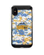 Denver Nuggets Digi Camo iPhone XS Max Cargo Case