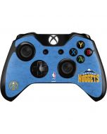 Denver Nuggets Distressed Xbox One Controller Skin