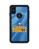 Denver Nuggets iPhone X Waterproof Case