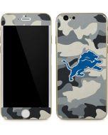Detriot Lions Camo iPhone 6/6s Skin