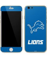 Detroit Lions Distressed iPhone 6/6s Skin