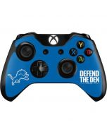 Detroit Lions Team Motto Xbox One Controller Skin