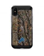 Detroit Lions Realtree AP Camo iPhone XS Max Cargo Case