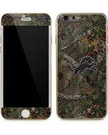 Detroit Lions Realtree Xtra Green Camo iPhone 6/6s Skin