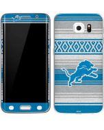 Detroit Lions Trailblazer Galaxy S6 Edge Skin