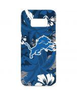Detroit Lions Tropical Print Galaxy S8 Plus Lite Case