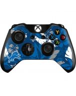 Detroit Lions Tropical Print Xbox One Controller Skin
