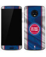Detroit Pistons Away Jersey Moto G6 Skin