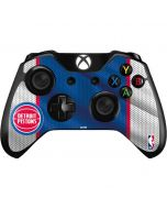 Detroit Pistons Away Jersey Xbox One Controller Skin