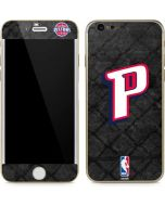 Detroit Pistons Dark Rust iPhone 6/6s Skin