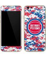 Detroit Pistons Digi Camo iPhone 6/6s Skin