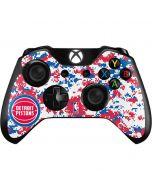 Detroit Pistons Digi Camo Xbox One Controller Skin