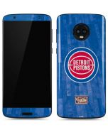 Detroit Pistons Hardwood Classics Moto G6 Skin