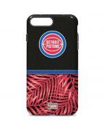 Detroit Pistons Retro Palms iPhone 7 Plus Pro Case