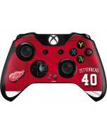 Detroit Red Wings #40 Henrik Zetterberg Xbox One Controller Skin
