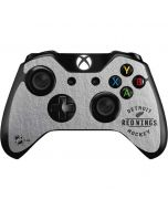 Detroit Red Wings Black Text Xbox One Controller Skin