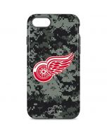 Detroit Red Wings Camo iPhone 8 Pro Case