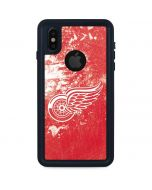 Detroit Red Wings Frozen iPhone X Waterproof Case
