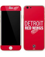 Detroit Red Wings Lineup iPhone 6/6s Skin