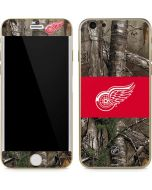 Detroit Red Wings Realtree Xtra Camo iPhone 6/6s Skin