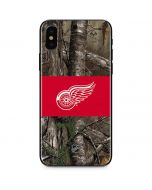 Detroit Red Wings Realtree Xtra Camo iPhone XS Skin