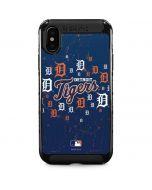 Detroit Tigers - Primary Logo Blast iPhone XS Max Cargo Case