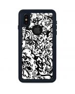 Dissolution - Black iPhone X Waterproof Case