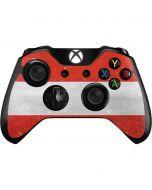 Distressed Austria Flag Xbox One Controller Skin