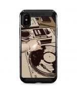DJ Spinning iPhone XS Max Cargo Case