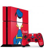 Donald Duck Backwards PS4 Console and Controller Bundle Skin