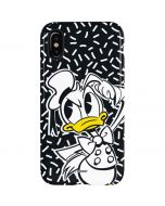 Donald Duck Thinking iPhone XS Pro Case