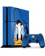 Donald Duck Up Close PS4 Console and Controller Bundle Skin