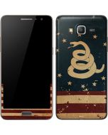 Dont Tread On Me American Flag Galaxy Grand Prime Skin