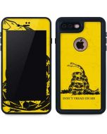 Dont Tread On Me iPhone 8 Plus Waterproof Case