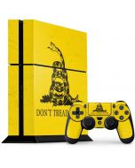 Dont Tread On Me PS4 Console and Controller Bundle Skin