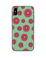 Donuts iPhone X Skin