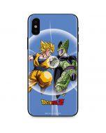 Dragon Ball Z Goku & Cell iPhone XS Skin